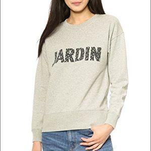 EUC Madewell Jardin Sweatshirt Heathered Grey